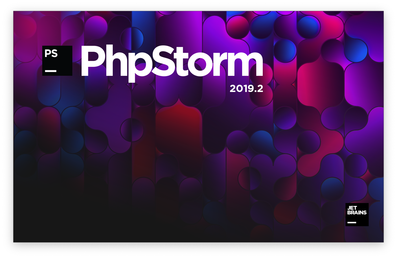 PhpStorm 2019.2 splash screen